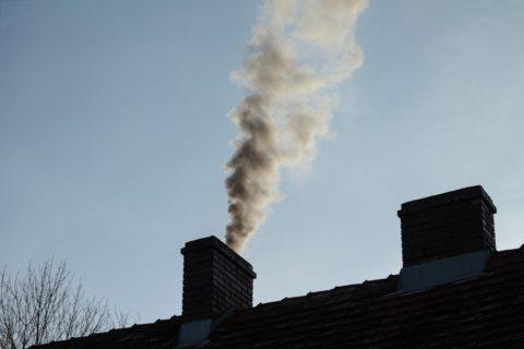 Le conduit de cheminée