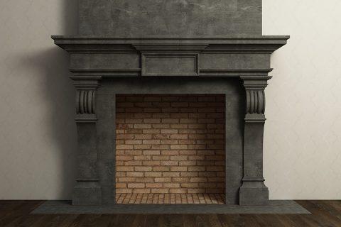 L'habillage classique pour sa cheminée
